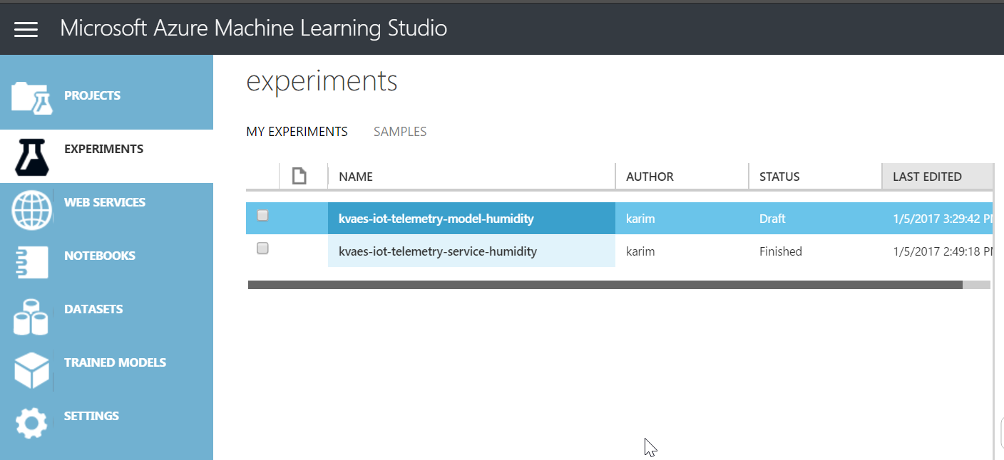 Azure Machine Learning : Let's check our IoT dataset for anomalies