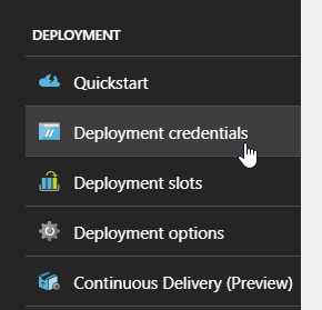 Azure App Service : Deploying a java webapp (geoserver) to