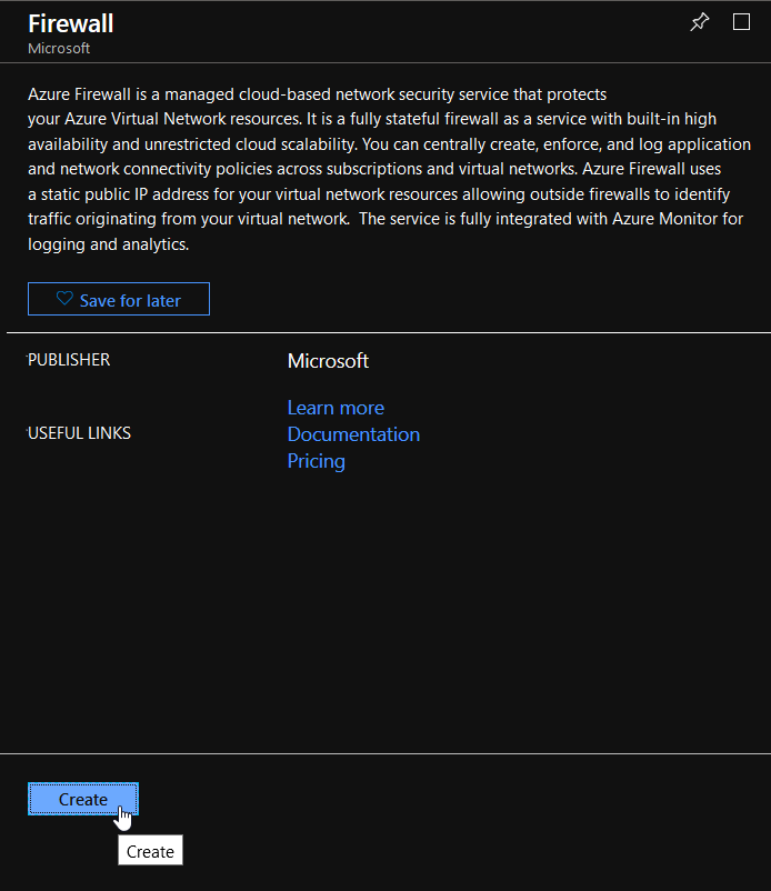 Trying out the Azure Firewall in a Hub & Spoke deployment