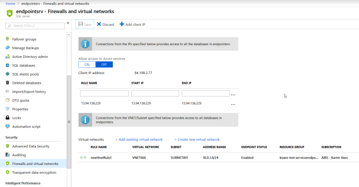Hardening your Azure Storage Account by using Service